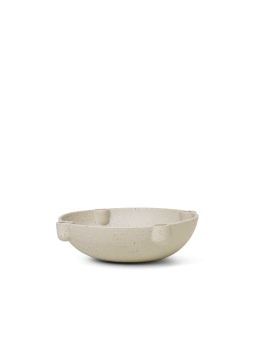 Ferm Living Bowl Candle Holder Ceramic