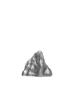 Ferm Living Ljusstake Stone Silver Small