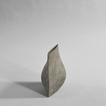 101 Copenhagen Origami Vase Mini Dark Grey
