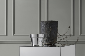 Skultuna Flower Pot Mini Silver