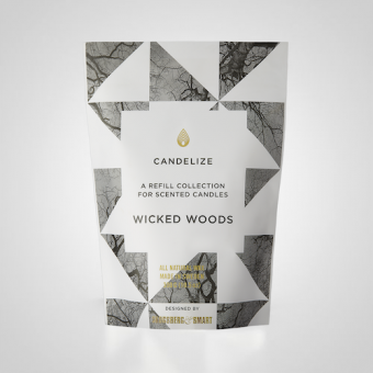 Candelize Refill Doftljus Wicked Woods
