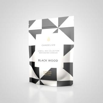 Candelize Refill Doftljus Black Wood