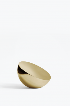 New Works Aura Table Mirror Brass