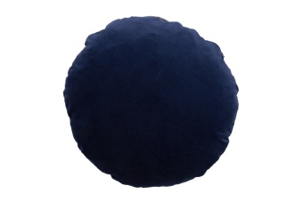 Christina Lundsteen Kudde Basic Round Dark Blue