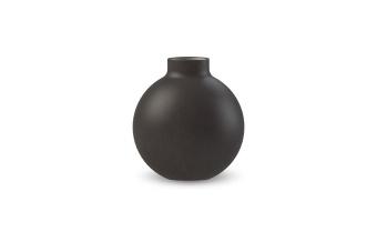 Cooee Collar Vase Black 12 cm