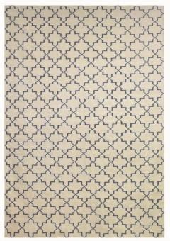 Chhatwal & Jonsson Matta New Geometric Off white/Indigo