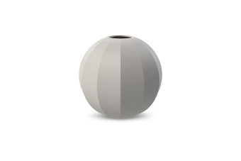 Cooee Edge Ball Vase Light Grey 15 cm