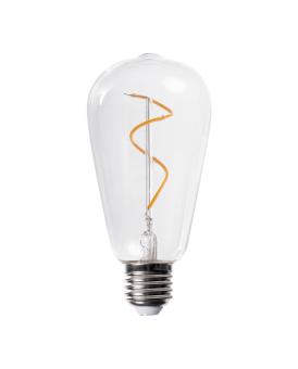 Humble ST64 Swirl Bulb Clear