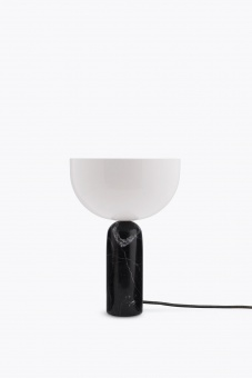 New Works Kizu Table Lamp Black Marble