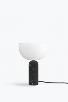 New Works Kizu Table Lamp Black Marble