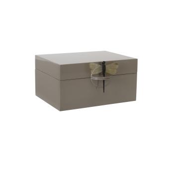 Oi Soi Oi Lacquer Box XL Brown Grey