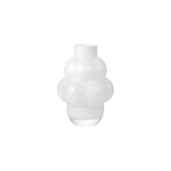 Louise Roe Balloon Vase 04 Opal White