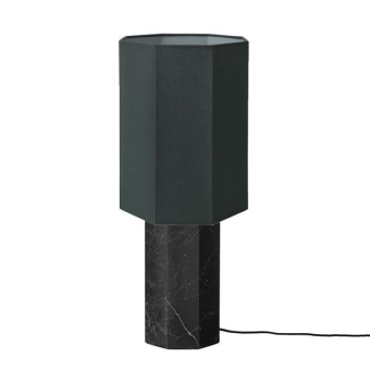 Louise Roe Eight Over Lamp Black Marble