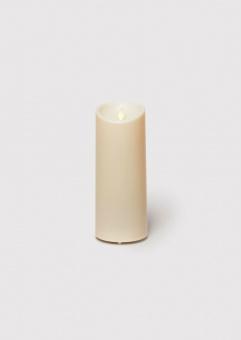 Luminara blockljus ivory 9x23 cm utomhus