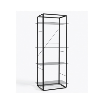 New Works Shelf Florence Large Iron Black
