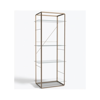New Works Shelf Florence Large Raw Gold