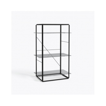 New Works Shelf Florence Medium Iron Black