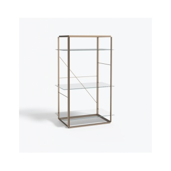 New Works Shelf Florence Medium Raw Gold