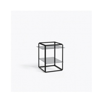 New Works Side Table Florence Iron Black