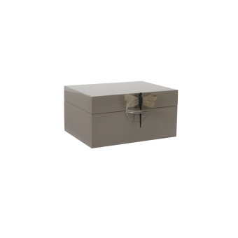 Oi Soi Oi Lacquer Box XL Brown Grey