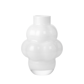 Louise Roe Balloon Vase 04 Opal White