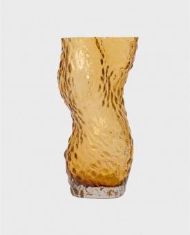 Hein Studio Ostrea Rock Vase Amber