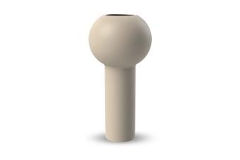 Cooee Pillar Vase Sand 32 cm