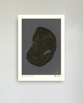 Hein Studio Print Round Line no. 03