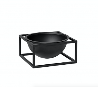 By Lassen Kubus Centerpiece Small Black