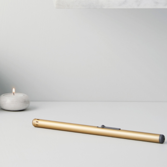Mignis Slim Table Lighter Brass