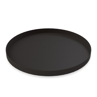 Cooee Circle Tray LGE Black