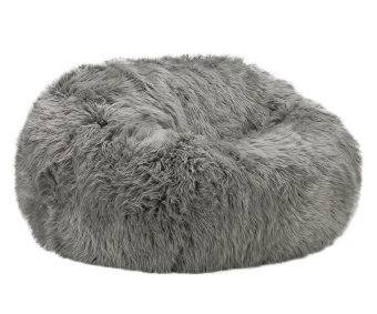Vetsak Beanbag Shaggy Monster Grey