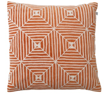 Chhatwal & Jonsson Kudde Kulgam Embroidered Velvet Orange
