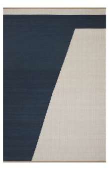 Chhatwal & Jonsson Matta Una Dark Blue/Beige/Off white