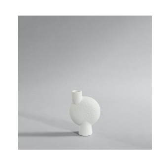 101 Copenhagen Sphere Vase Bubl Medio Bubble White