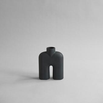 101 Copenhagen Cobra Vase Tall Mini Black