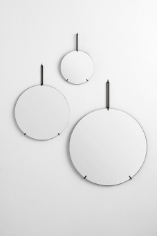 Moebe Wall Mirror Black