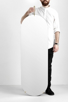 Moebe Tall Wall Mirror