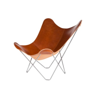 Cuero Butterfly Chair Leather Pampa Mariposa Montana