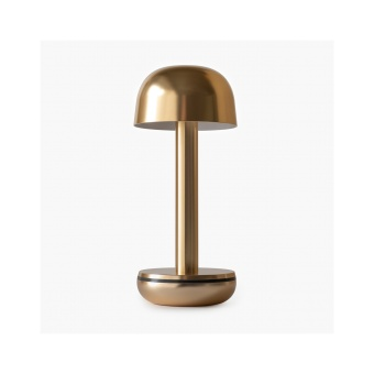 Humble Two Table Light Gold