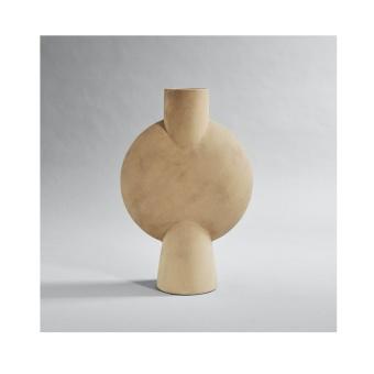 101 Copenhagen Sphere Vase Bubl Hexa Sand