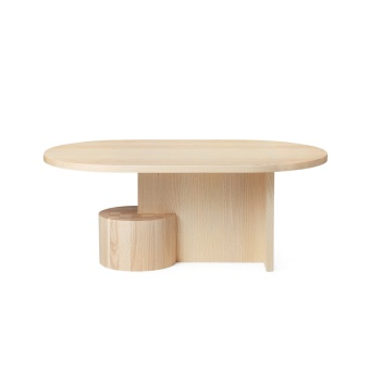 Ferm Living Insert Coffee Table Natural Ash