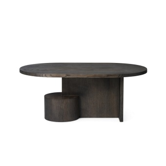Ferm Living Insert Coffee Table Black stained ash