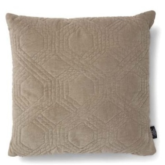 Classic Collection Kudde Geometric Simply Taupe