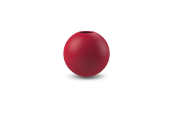 Cooee Ball Vase Dusty Red