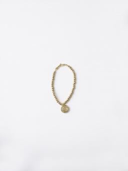 Malaika Cotton Brass Bracelet