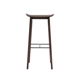 Norr 11 NY11 Bar Chair Dark Stained