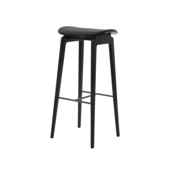 Norr 11 NY11 Bar Chair Black Leather