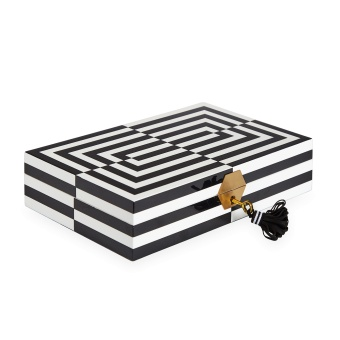 Jonathan Adler Op Art Jewellery Box