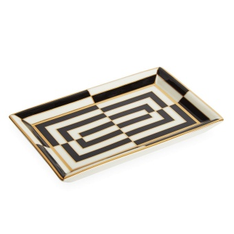 Jonathan Adler Op Art Rectangle Tray